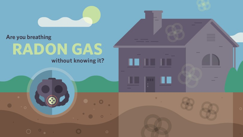 radon gas test